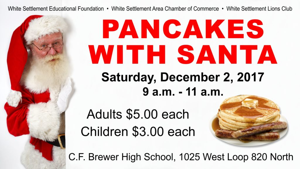 Pancakes with Santa @ C.F. Brewer High School - Cafeteria | Fort Worth | Texas | United States