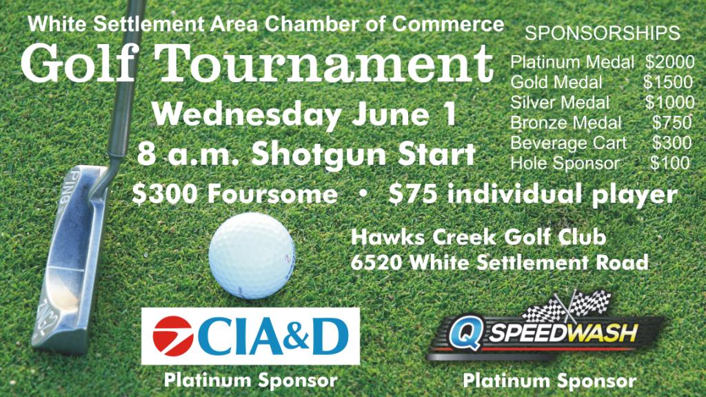 White Settlement Area Chamber of Commerce Golf Tournament - June 1, 2016