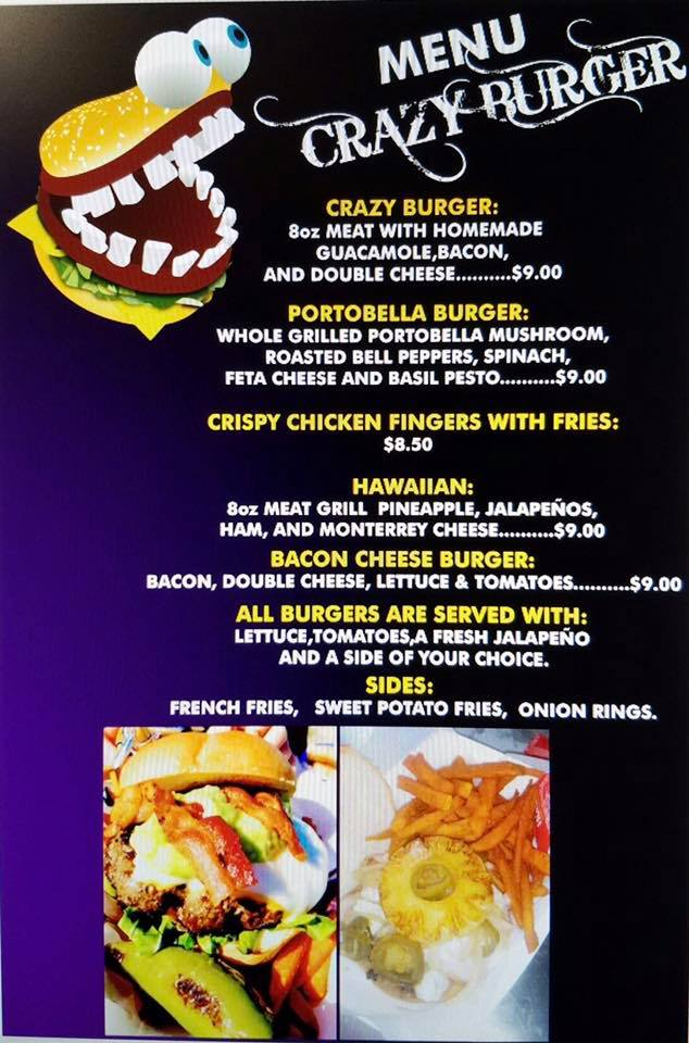 Crazy Burger or Holy Frijole Food Truck at ESC Region 11 @ ESC Region 11 | White Settlement | Texas | United States