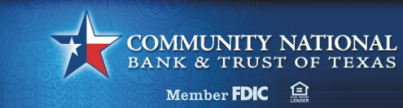 Community National Bank & Trust of Texas -  All Star Member