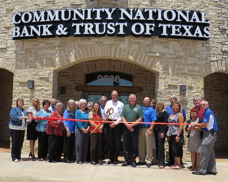 Community National Bank & Trust of Texas Ribbon Cutting - White Settlement