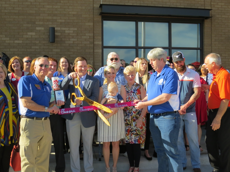 WSACC Ribbon Cutting at Chick-fil-A Apri l25, 2019