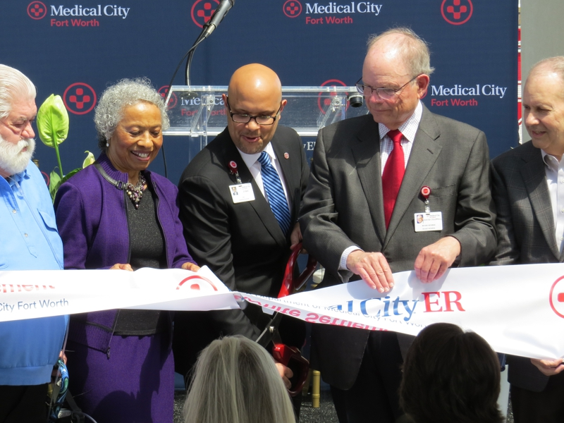 Medical City ER White Settlement Ribbon Cutting 5-3-19