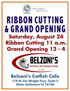 Ribbon Cutting @ Belzoni's Catfish Cafe | White Settlement | Texas | United States